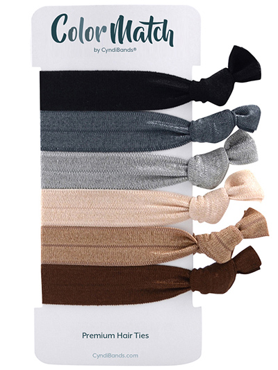 gentle hair ties set of 6