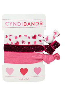 hearts hair ties arm candy