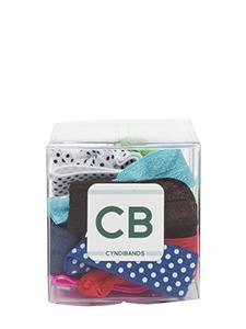 hair ties gift cube