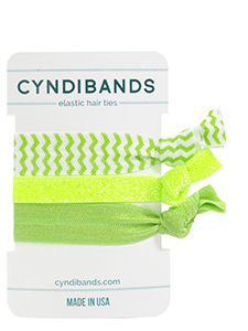 neon hair ties instant arm candy