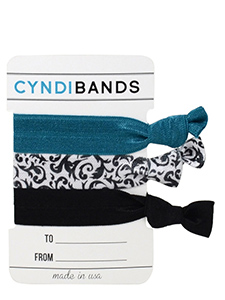 black damask hair ties gift card