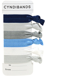 hair ties gift card 6 pack