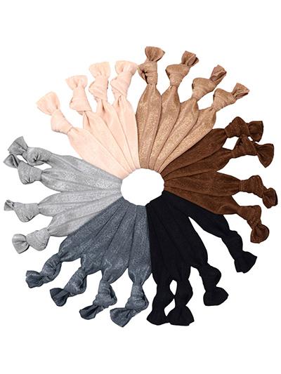 mega pack gentle hair ties