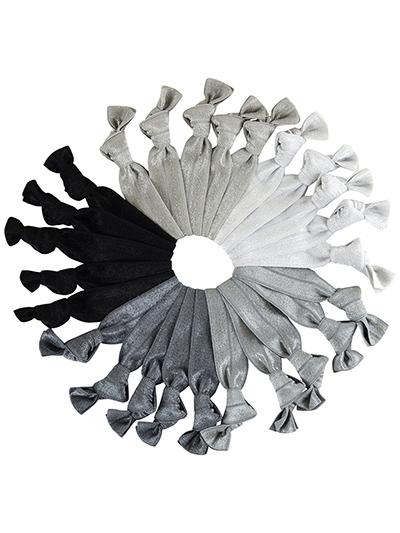 grey hair ties mega