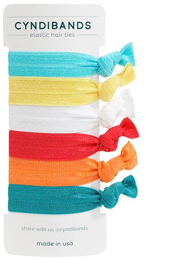 Under the Sea set of creaseless hair ties at Cyndibands.com ae0dec78866