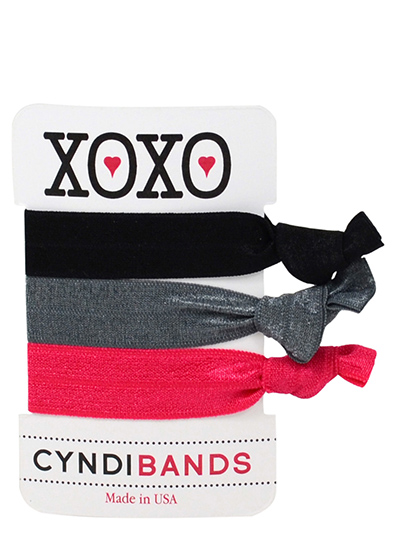 xoxo gift card hair ties