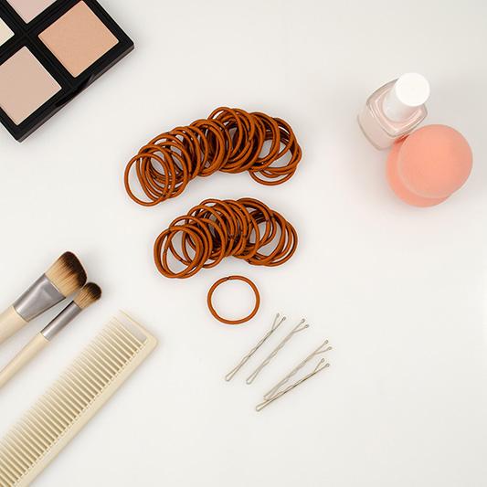 small 2mm mini hair ties