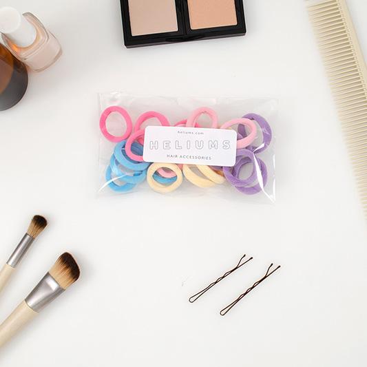 small gentle seamless hair ties