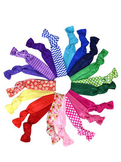 colorful hair ties Mega