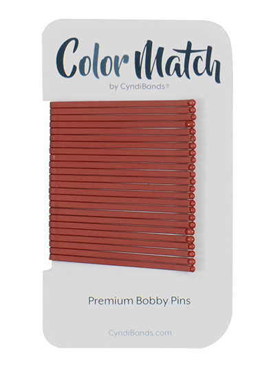 bobby pins flat matte color