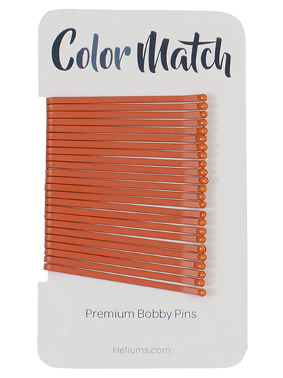 bobby pins for red hair