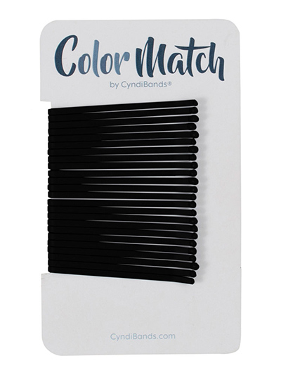 bobby pins color match enamel