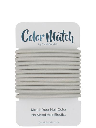 color match no-metal hair elastics ties