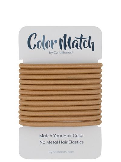 color match no-metal 4mm hair ties