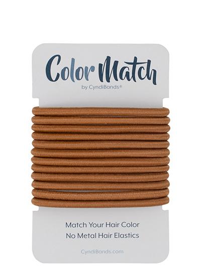 no-metal hair elastics ponytail holders