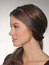 skinny glitter headband