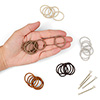 mini 2mm hair elastics