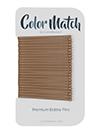 bobby pins flat matte color