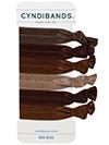 brown hair ties