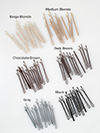 bobby pins enamel coated