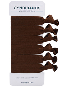 elastic hair ties - 6 pack