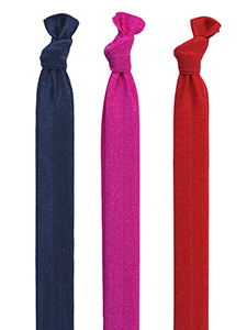 elastic headbands set of 3