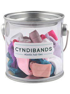 minis hair ties pain tin - 24 count