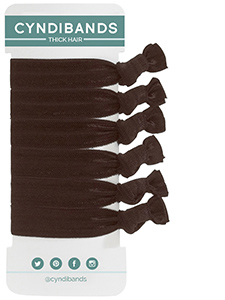 thick hair large hair ties 6 pack
