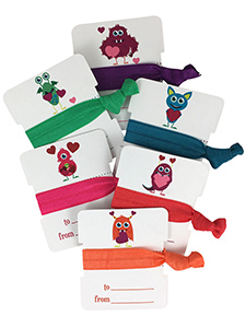 hair ties monsters with hearts sets