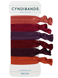 creaseless hair ties 6-pack
