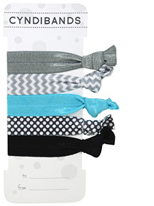 hair ties gift card 5 pack