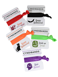 halloween single hair tie packs