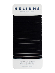 skinny seamless 6mm hair ties