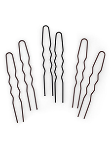large u shaped hair pins