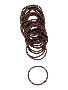 large 4mm hair elastics