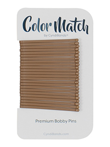 bobby pins for light brown hair