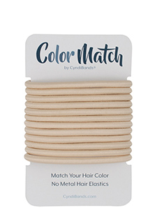 color match solid color no-metal elastics