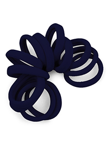 gentle hold seamless fabric hair ties