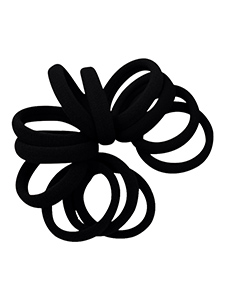 strong hold seamless hair ties